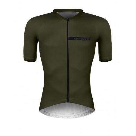 majica FORCE CHARM moška kratki rokavi, vojaško zelena