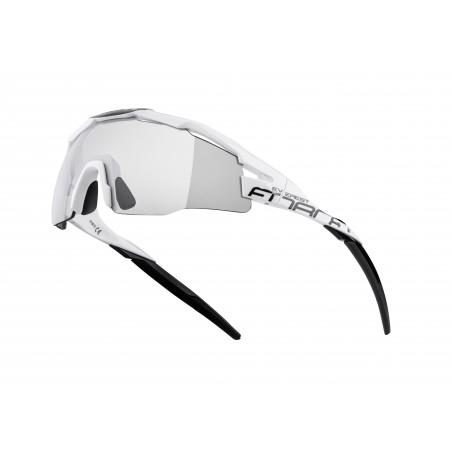 očala F EVEREST bela-črna, fotokromat. steklo